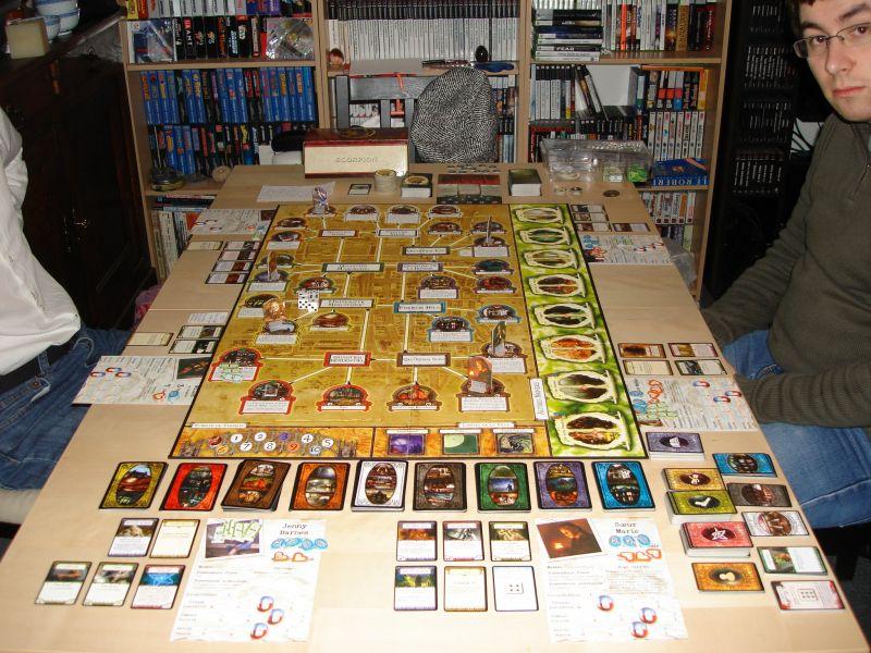 La Ligue Horreur à Arkham : Chapitre One dans Board Games plateauchp1